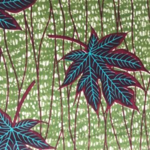 Tissu wax Hibiscus