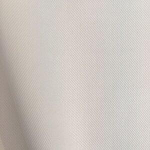 Gabardine coton et lycra blanc