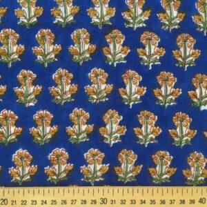 Tissu impression artisanale Mysore