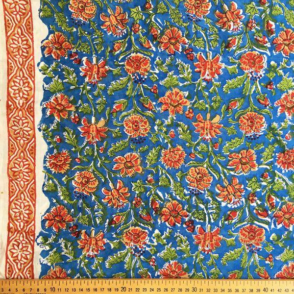 Tissu impression artisanale Andaman