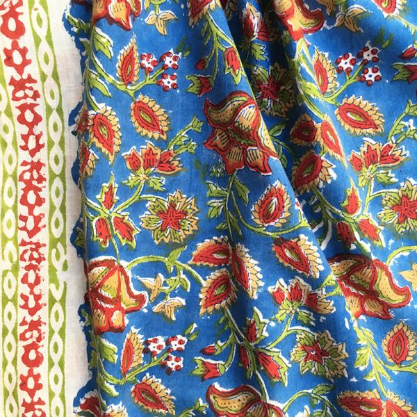 Tissu impression artisanale Chandrapur