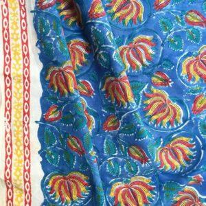 Tissu impression artisanale Rajkot