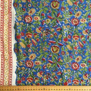 Tissu impression artisanale Indore
