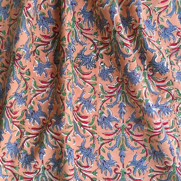 Tissu impression artisanale Cochin