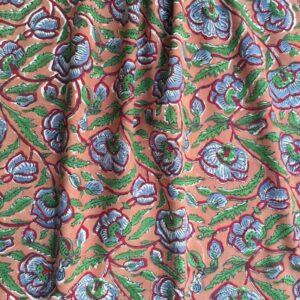Tissu impression artisanale Erode