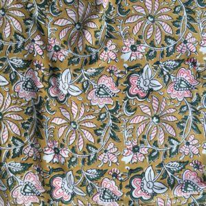 Tissu impression artisanale Raichur