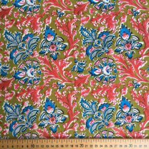 Tissu impression artisanale Mudhol