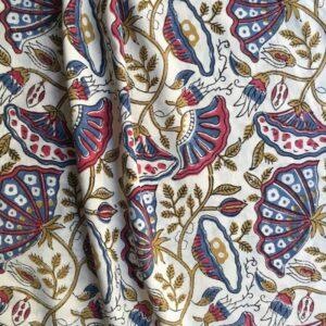 Tissu impression artisanale Kadapa