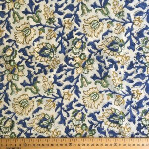 Tissu impression artisanale Vellore