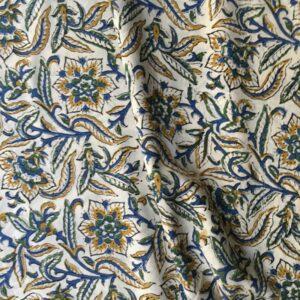 Tissu impression artisanale Pushkar