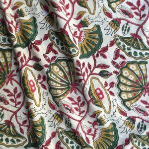 Tissu impression artisanale Latur