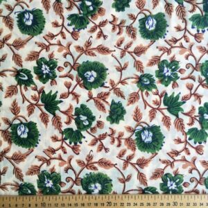 Tissu impression artisanale Bhopal