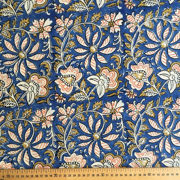 Tissu impression artisanale Varanasi