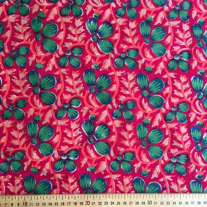 Tissu impression artisanale Shimoga