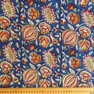 Tissu impression artisanale Ajmer