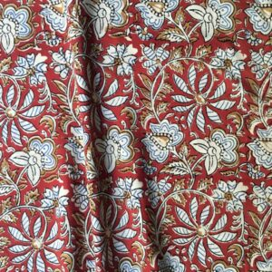 Tissu impression artisanale Surate