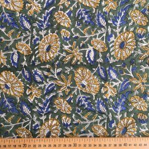 Tissu impression artisanale Bhind