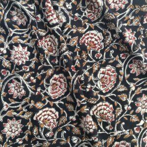 Tissu impression artisanale Goa