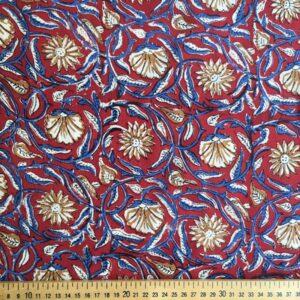 Tissu impression artisanale Pune