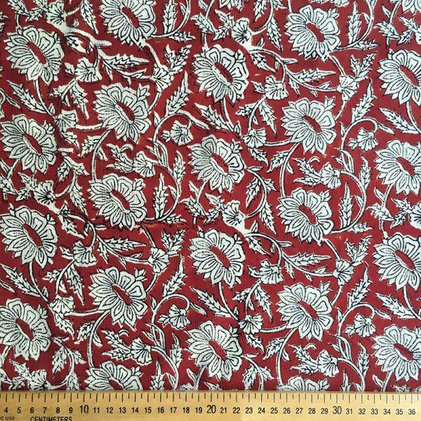 Tissu impression artisanale Sindhagi