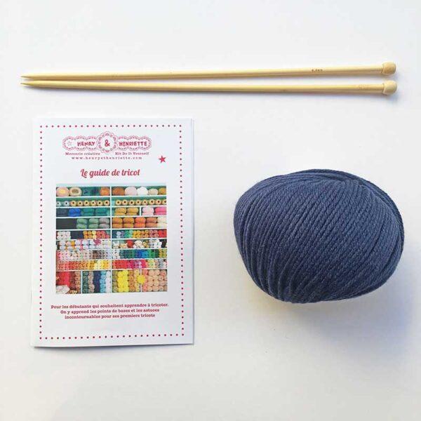 Apprendre à tricoter