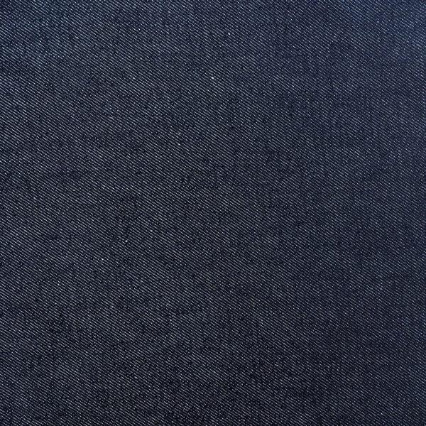 Tissu jean bleu foncé