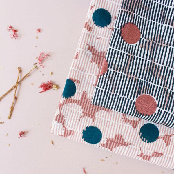 Tissu Mirage Chestnut - Atelier Brunette