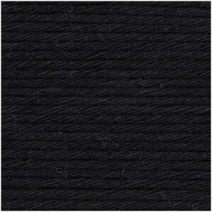Pelote coton aran noir