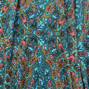 Tissu crêpon oriental
