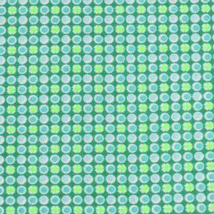 Tissu Django vert boréal Petit Pan